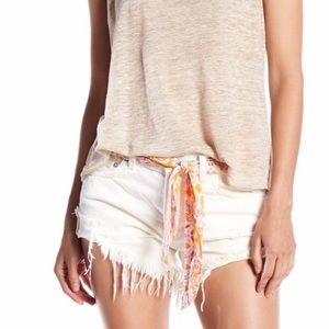 Free People Sashed And Relaxed Cut Offs